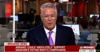 CAUGHT: Donny Deutsch slams Sen. Blunt for his sly use of Stacey Abrams' race in Manchin critique