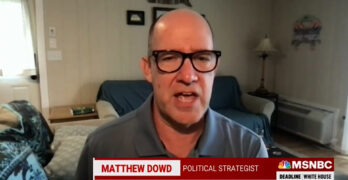 Matthew Dowd on what Republicans think about their voters- They don't think you matter.