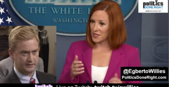Jen Psaki hits back Fox News' Doocy's cooked crime numbers with real numbers & it's guns