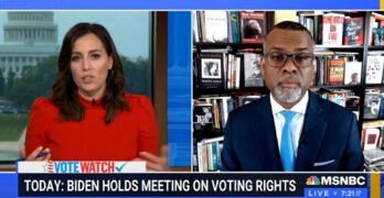 Eddie Glaude urges Democrats to stop acting as if the GOP is rational as they steal our democracy.