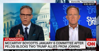 Jake Tapper calls out two Republicans as liars & says violent insurrection now associated with GOP