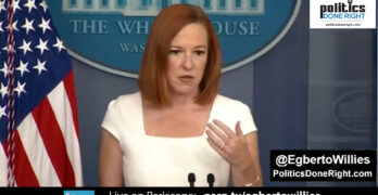 Jen Psaki exposes Republican assault on Democracy matter of factly at the presser. That's messaging.