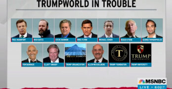 Rachel Maddow exasperated that the Republican 2024 frontrunner is a criminal surrounded by criminals