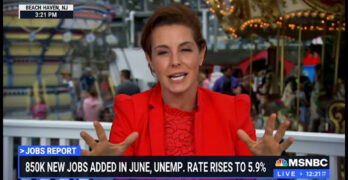 Stephanie Ruhle knocks crybaby businesses who claim they can't afford to pay a living wage. EPIC!