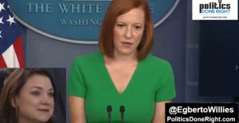 """WH Reporter's SILLY question gets a great answer from Jen Psaki: """"The data speaks for itself"""""""