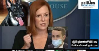 A 'serious reporter' challenged Jen Psaki about the first dog biting someone. She ridiculed him civilly.