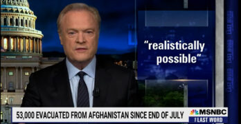 O'Donnell slams Afghanistan coverage advised by media-paid generals who themselves lost wars.