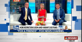 Two Fox News hosts swipe at each other on-air about the COVID vaccine. Doocy was the smart one?
