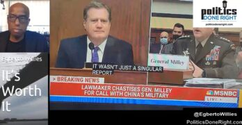 General Milley completely embarrassed grandstanding GOP Congressman on the China call. IE - BRING IT ON!