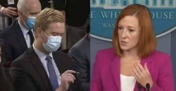 Jen Psaki skewers Peter Doocy over question: You think pregnant women are posing a big threat?