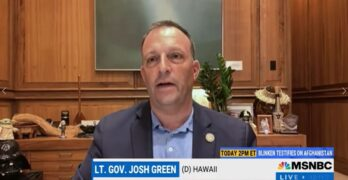Lt. Governor to Red State Governors: You are killing your constituents