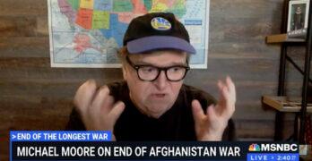 Michael Moore's sentiment on Joe Biden is one I hope more Progressives share