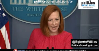 Psaki lit into Fox News-like reporter. Florida won't get larger share of antibodies. Get vaccinated