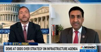 Ro Khanna: $3.5T infrastructure bill is Biden's. Progressives have been his strongest allies.