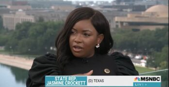 TX Rep. Jasmine Crockett identifies the most dangerous. It's not the insurrectionists she fears.