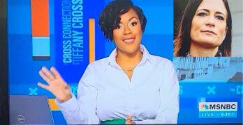This MNSBC Host, Tiffany Cross dissed Stephanie Grisham's Trump tell-all book. Failing up.