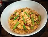 Almond Shrimp Asparagus - Chinese Food Restaurant in Midtown & Leawood - Blue Koi - Menu Image