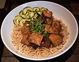 Braised Tofu with Shitake Mushroom - Chinese Food Restaurant in Midtown & Leawood - Blue Koi - Menu Image