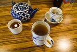 Loose Leaf Teas - Chinese Food Restaurant in Midtown & Leawood - Blue Koi - Menu Image