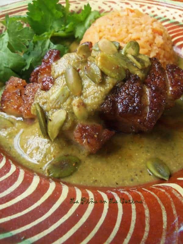 DINNER ENTREE- PIPIAN VERDE PETITE