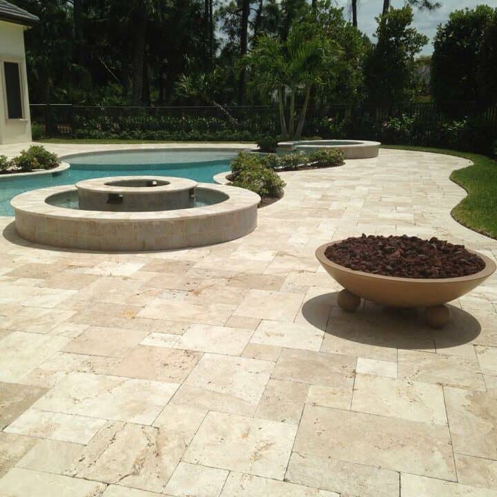 Fort Myers Fire Pit Installation