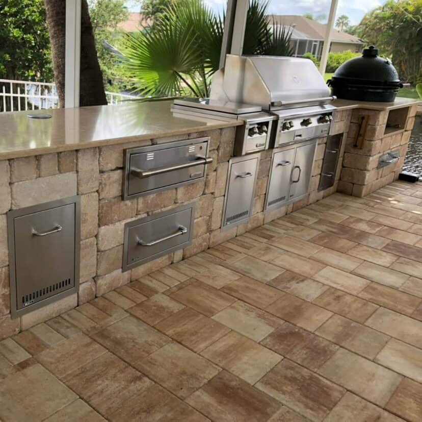 North Fort Myers Outdoor Kitchen Installation