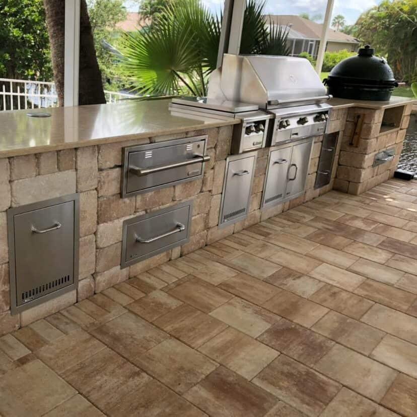 North Fort Myers Outdoor Kitchen Installation