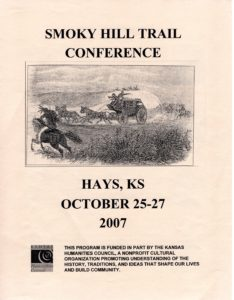 """""""Organization and History of the Smoky Hill Trail"""""""