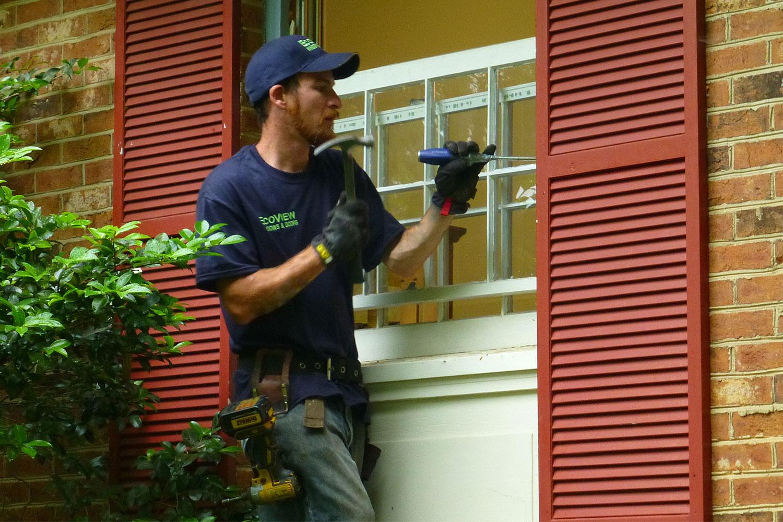 morganton nc window removal