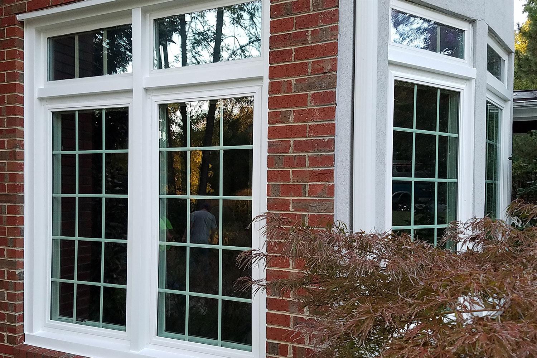 new windows in newton-conover home