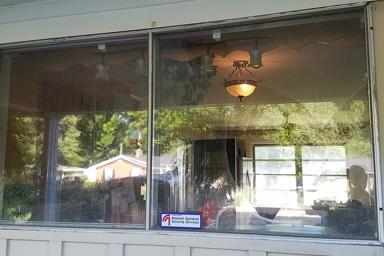 statesville home window in need of repair