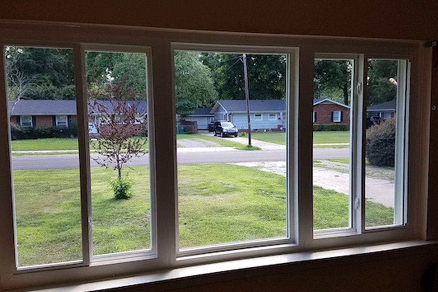 interior view of new window in statesville nc home