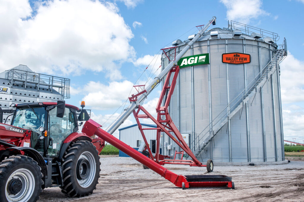 VVA Farm Bins and unload augers