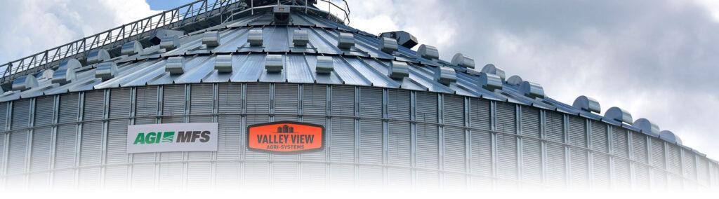 Commercial grain storage