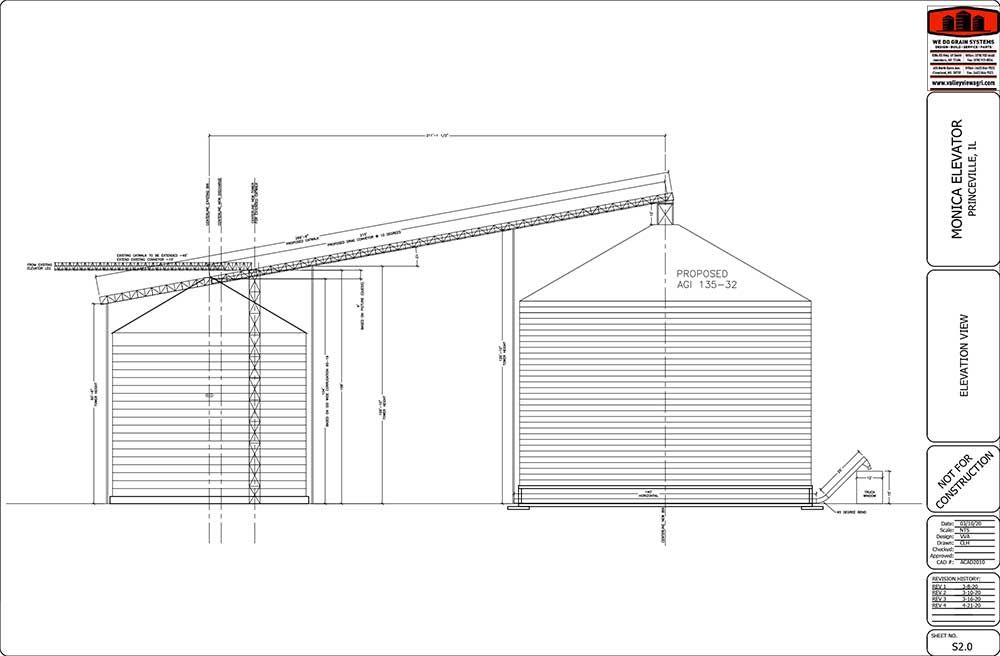 Grain System Elevator design