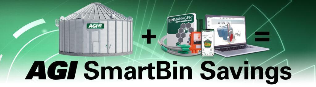 Save on a grain bin and bin management system