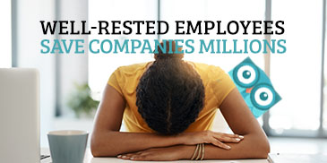 Well-Rested Employees Save Employers and Insurance Companies Millions