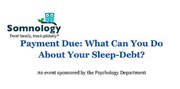 Payment Due: What Can You Do About Your Sleep-Debt?
