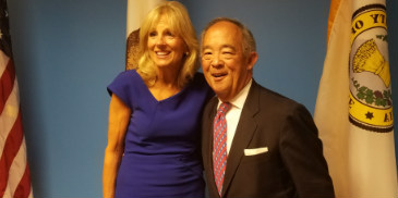 Patrick Yam Meets with Dr. Jill Biden