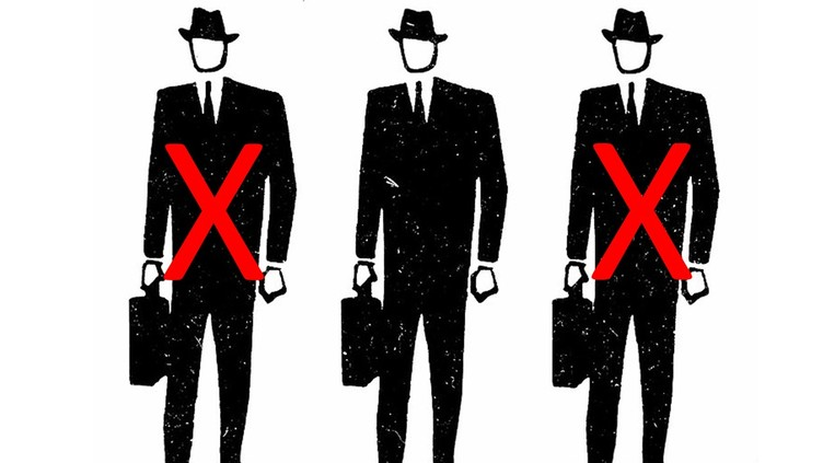 Three men in suits