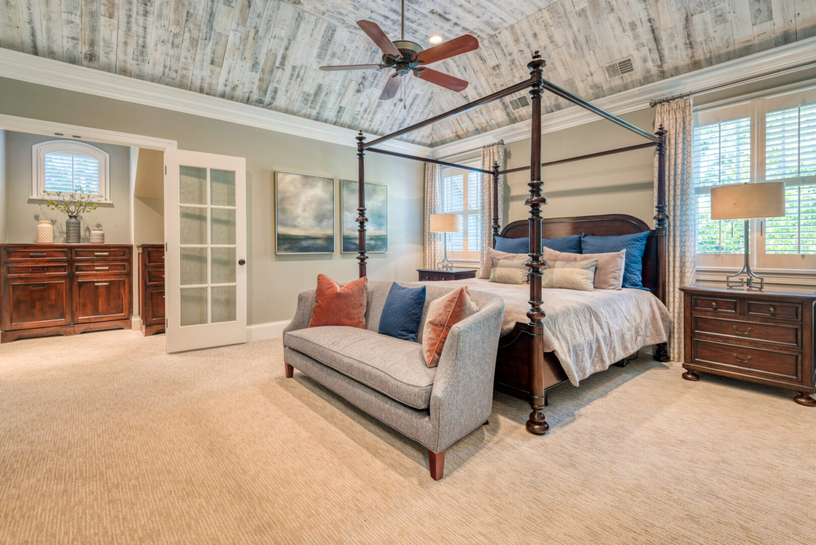 A Master's Bedroom With Exceptional Interior Design