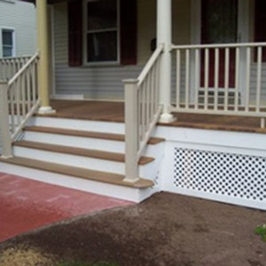 Front Stairs for Deck