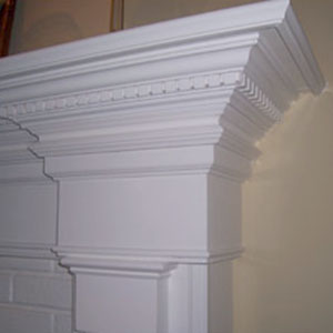Custom Pillar Crown Molding