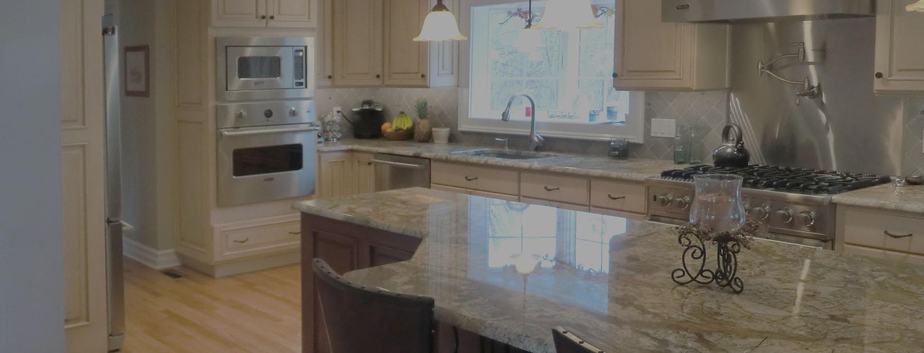 Medium Bright Kitchen Remodel