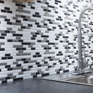 peel and stick kitchen tile backsplash
