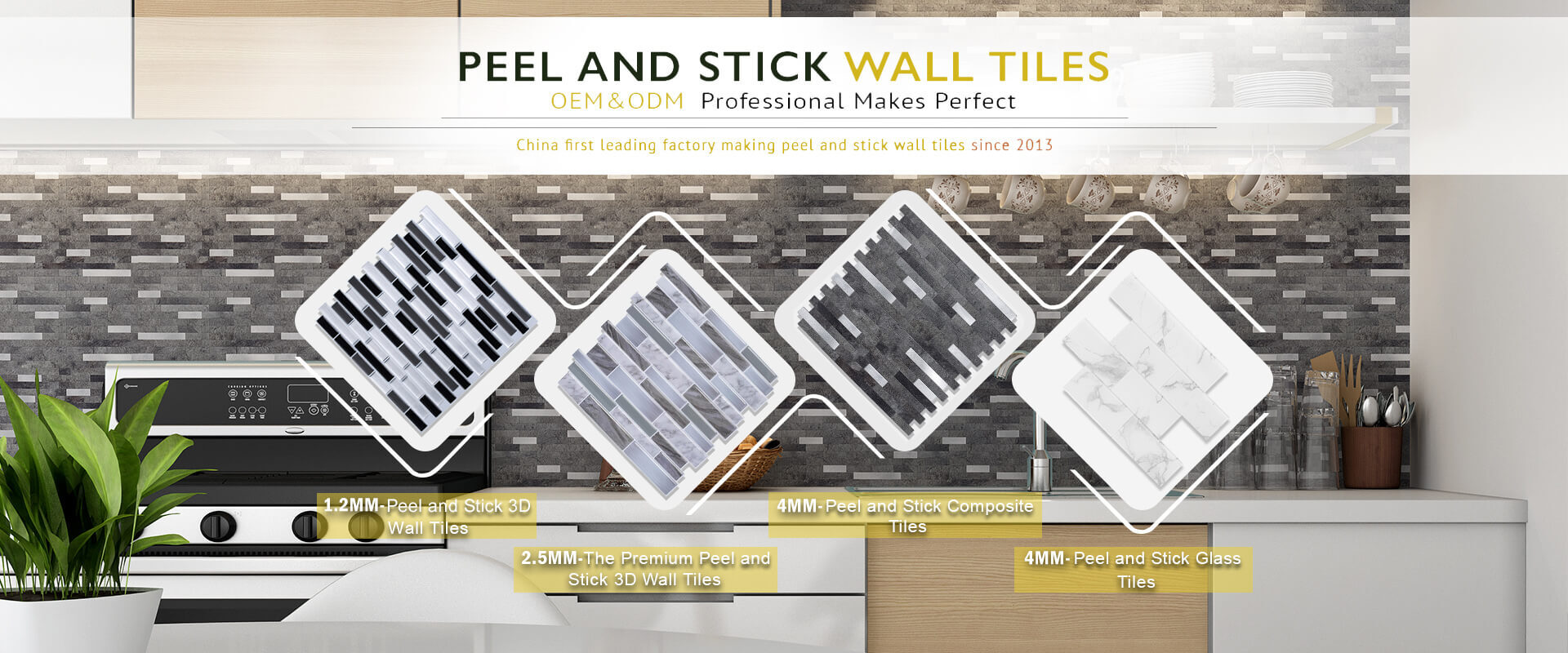 peel and stick backsplash tiles