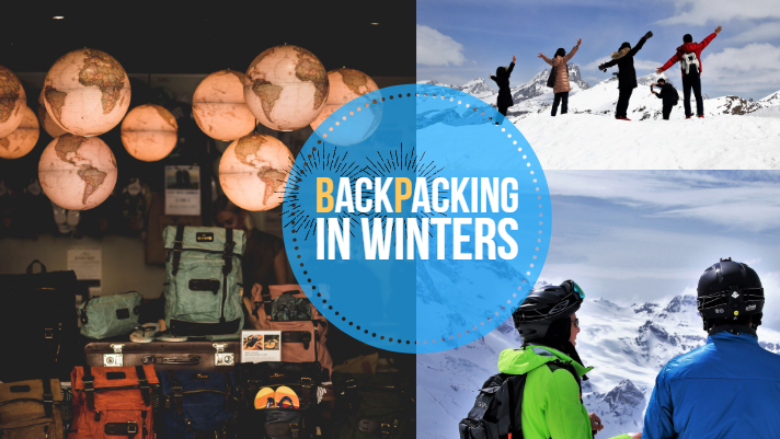 Backpacking in winters