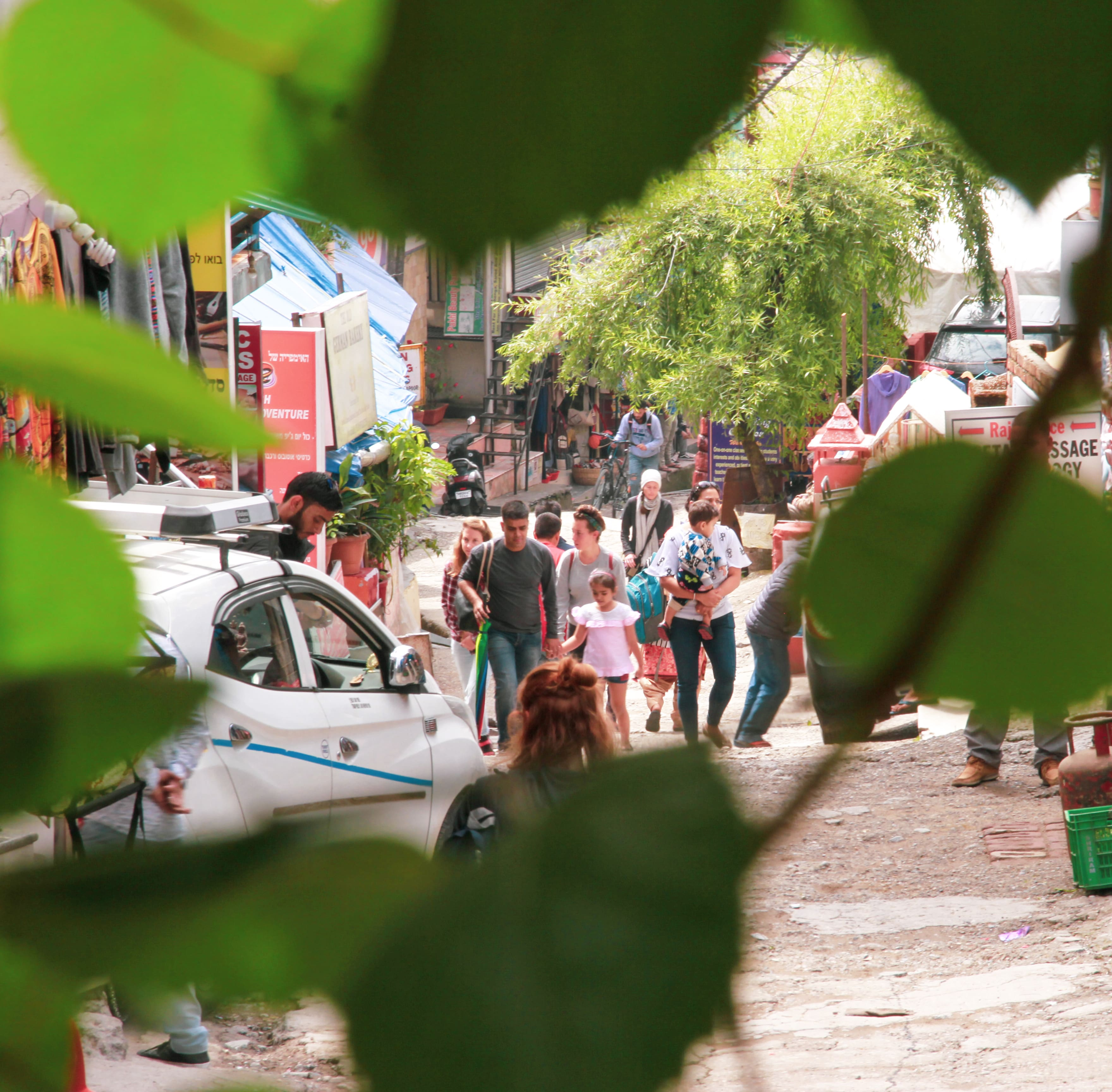 Local Market in Upper Bhagsu