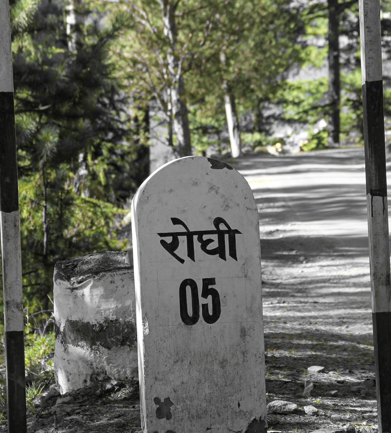 On the Roghi road in Kalpa