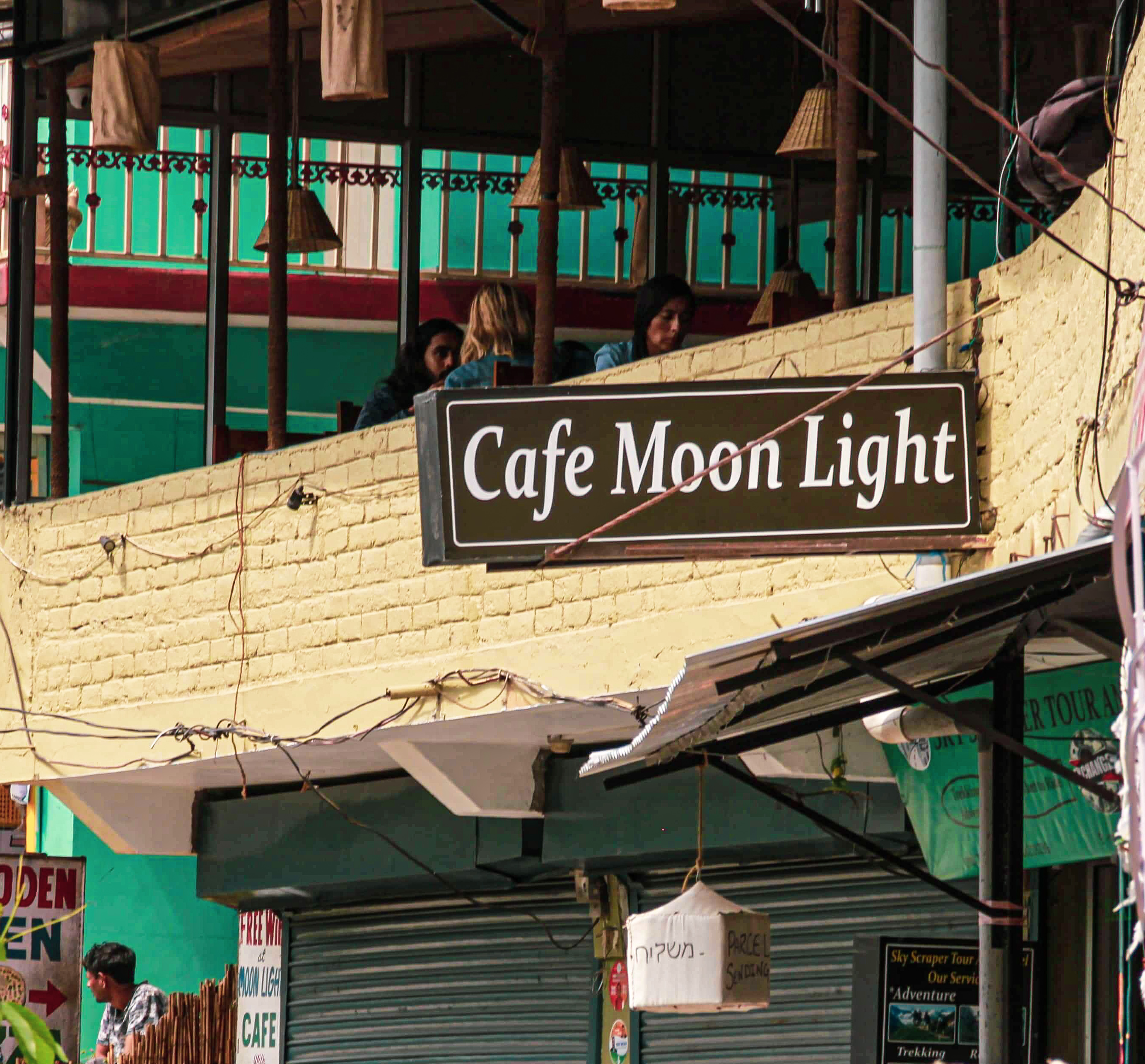 Cafe in Dharamkot - Cafe Moonlight
